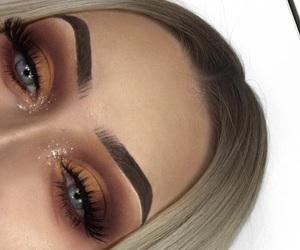 makeup, eyeshadow, and girls image