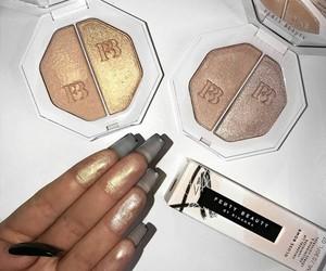 makeup, beauty, and fenty beauty image