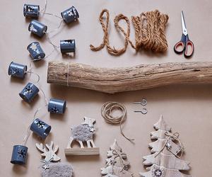 christmas, deco, and decoration image