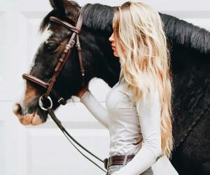 beige, belt, and blond image