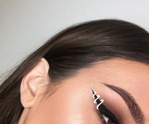makeup and eyebrows image