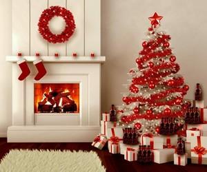 bedroom, christmas, and winter image
