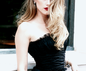 amber heard, beauty, and blonde image