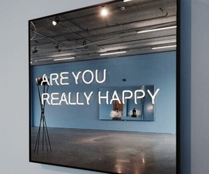 mirror, quote, and words image