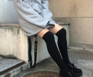 alternative, black, and creepers image