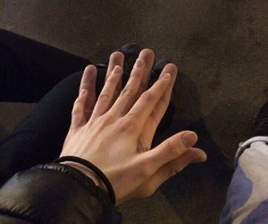 couple and hands image