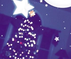 tree, snapchat, and christmas image