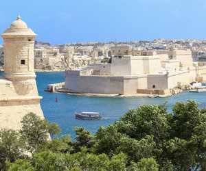 city, europe, and malta image