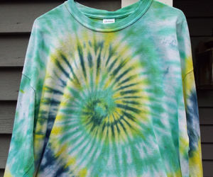etsy, hippie, and tie-dye image