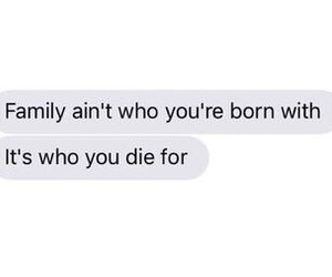 family, text, and love image