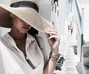 hat, fashion, and travel image