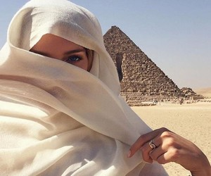 egypt, girl, and travel image