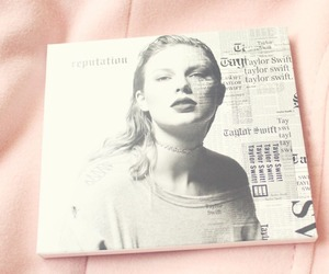 cd, Reputation, and Taylor Swift image