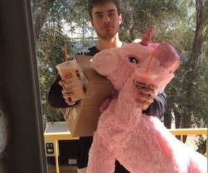 boyfriend, goals, and unicorn image