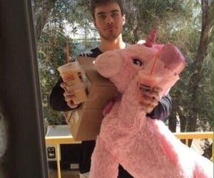 boyfriend, pink, and love image