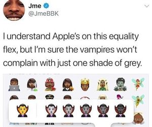 vampires, shades of grey, and funny tweet image