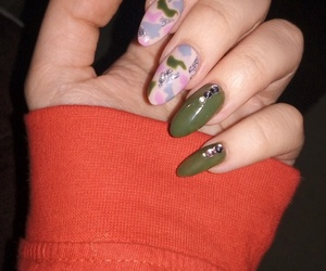 nails, cool nails, and military nails image