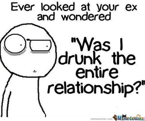 ex, Relationship, and funny image