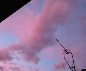 aesthetic, romantic, and sky image