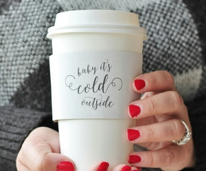 coffee, sweater, and ❄ image