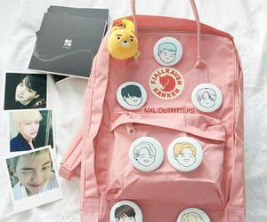 bts, backpack, and kawaii image