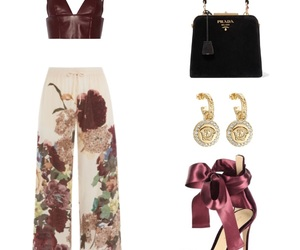 outfits, Polyvore, and red image