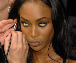 Naomi Campbell, model, and black image