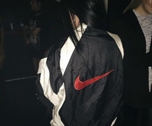 nike, style, and hair image