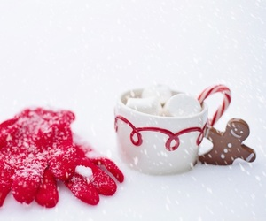 christmas, cold, and cookie image
