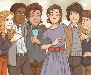 eleven, max, and stranger things image