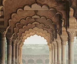 india, architecture, and travel image