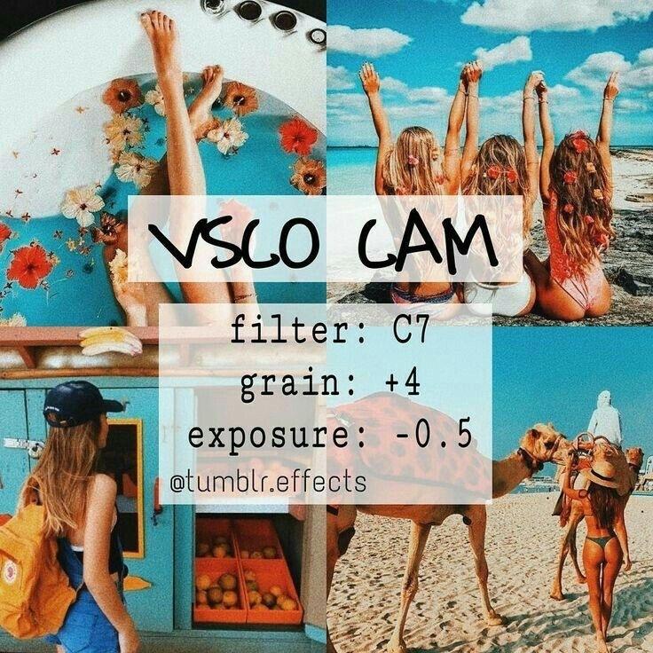 VSCO Cam Filter Ideas (+how I edit my photos)