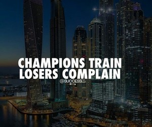 complain, losers, and success image
