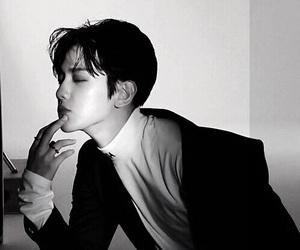 exo, baekhyun, and monster image