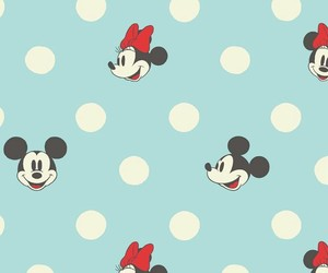 wallpaper, disney, and minnie mouse image