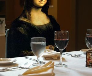 elegante, gracioso, and mona lisa image