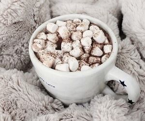 winter, coffee, and drink image