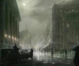 dark, gothic, and victorian era image