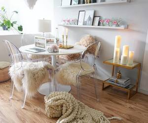 beautiful, furniture, and candles image