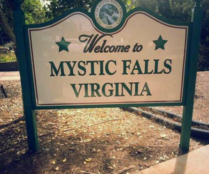 virginia, the vampire diaries, and mystic falls image