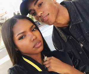 ryan destiny, couple, and keith powers image