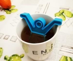 ball, food, and tea image