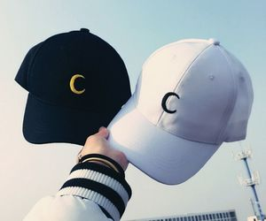 hat, cap, and black image