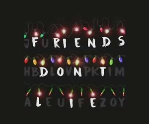 quotes, friends, and fuckfakefriends image