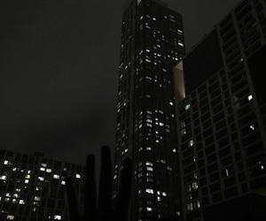 city, cloud, and dark image