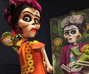 coco, disney, and frida kahlo image