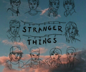 stranger things, wallpaper, and eleven image