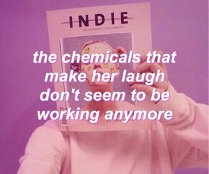 indie, pink, and quotes image