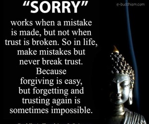 broken, forget, and forgive image