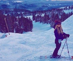 ski, snow, and snowy image